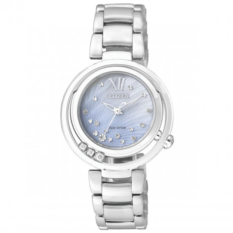 Citizen L 0321 Orologio Donna con Diamanti EM0321-56D