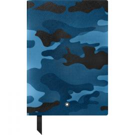 Montblanc Notepad 146 blue camouflage print, stripes 118821
