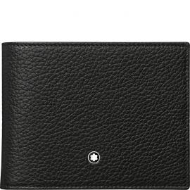 Montblanc Wallet 6 compartments with removable credit card holder Meisterst's Soft Grain 114467